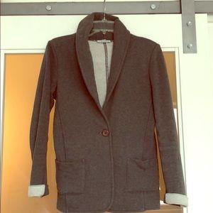 James Perse grey cotton blazer